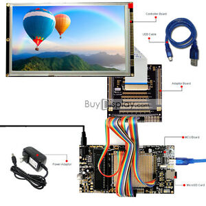 8051 Microcontroller Development Board Usb Programmer For 8 tft Lcd Display