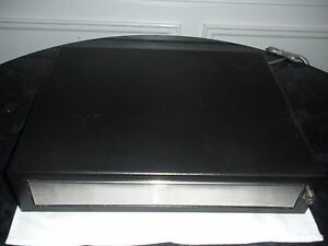 Mmf Heritage Black Cash Drawer Ecd 200 12vdc Without Key And Tray