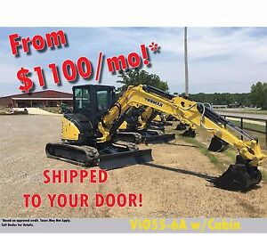 2016 Yanmar Vio55 6a No Sales Tax we Deliver Call Us For A Great Deal