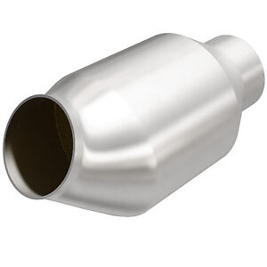 Magnaflow 59979 High flow Catalytic Converter Round Spun Metallic 3 In out
