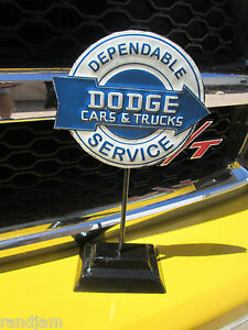 Dodge Desk Display Dependable Service Chrysler Corporation Parts Division Prod