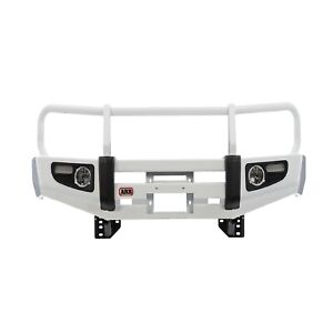 Arb 3415010 Black Steel Front Bumper Deluxe Bar For 07 13 Toyota Tundra