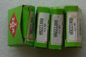 Ina Axk 1226 A Needle Bearing Thrust Roller Assembly Lots Of 4