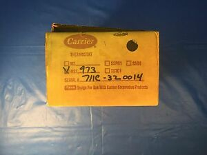 Carrier Mst973 Thermostat