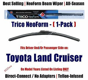 Qty 1 Super Premium Neoform Wiper Blade Fits 1970 1977 Toyota Land Cruiser 16140