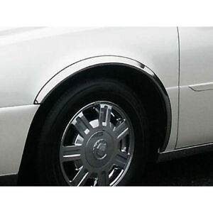 4pc Luxury Fx Chrome Fender Trim For 2000 2005 Cadillac Deville