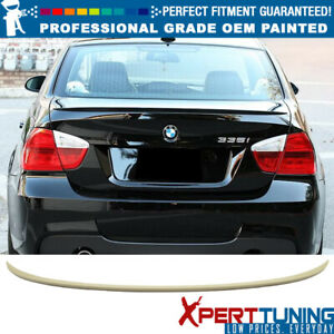 Fits 06 11 3 Series E90 4dr Sedan M3 Painted Abs Trunk Spoiler Oem Painted Color