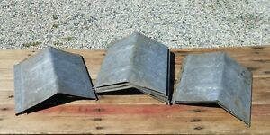 12 Old Sap Bucket Covers Lids Peaked Roof Top Maple Syrup Ready To Use Patina