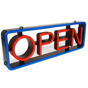 Mystiglo Led Swivel Open Sign Free Shipping