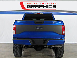 New 2015 2017 Ford F 150 Tailgate Blackout Decal Vinyl Graphics Kit 2016