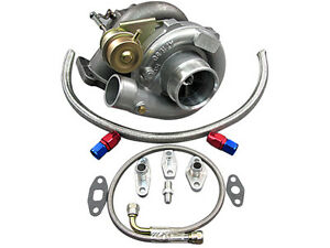 T61 Turbo Charger Oil Kit Toyota 86 92 Supra Mk3 Mk 3 7mgte Upgrade Ct26 Bolt