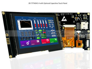 4 3 inch Tft Lcd Module Display W ssd1963 capacitive Touch Panel Screen tutorial