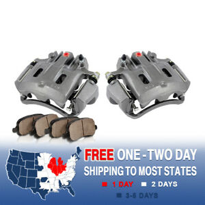 Rear Oe Brake Calipers Pads 2000 2001 2002 2003 2004 Ford Excursion F250 F350