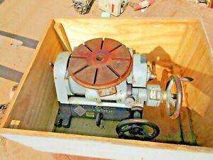 Sip Societe Genevoise Tilting Rotary Table 11 3 4 Table Type Pi 4