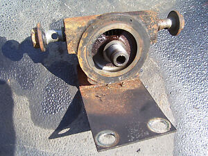 Vintage Ford 1520 Diesel Tractor hydraulic Filter Base