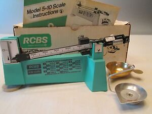 rcbs 10 10 scale instructions