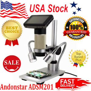Andonstar Hdmi Digital Inspection Microscope Pcb Repair 10x 300x Smt Smd Camera
