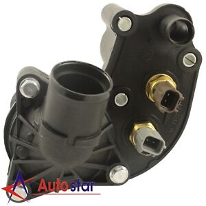 Thermostat Housing With Sensors Kit For 97 01 Ford Explorer Mountaineer 4 0l V6