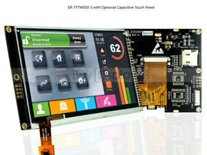 5 5 0 Inch Wvga 800x480 Tft Lcd Controller Module Touch Display i2c serial Spi