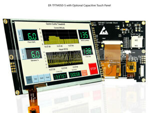 5 Inch Tft Lcd Module Display 800x480 W ssd1963 capacitive touch Panel tutorial