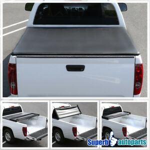 For 2005 2014 Toyota Tacoma Double Cab Trifold Tonneau Cover 5ft Short Bed