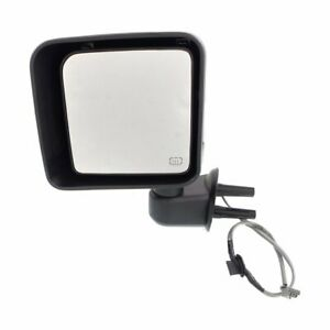 68204245aa Ch1320389 New Mirror Driver Left Side Heated Lh Hand Jeep Wrangler 14