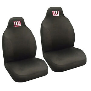 New Nfl New York Giants 2 Front Universal Fit Car Truck Bucket Seat Covers