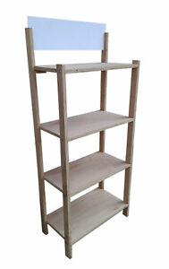 Foldable Wood Bakery Rack Supermarket Display Beverage Beer Wine Retail Stand