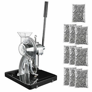 Semi-Automatic Grommet Machine Hand Press Tool with 10000pcs #2 Eyelet Banner