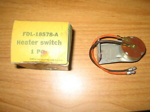 Nos 1955 Lincoln Heater Blower Switch