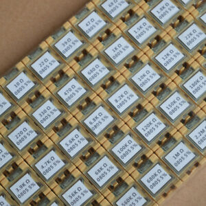 50 Value 0805 Smd Assorted Resistor Kit In Box 5000pcs 1 8w 5 rohs