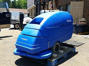 Clarke Focus S33 Walk behind 33 Floor Scrubber Under 500 Hours