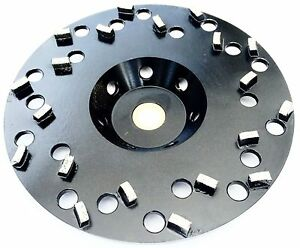 7 Diamond Cup Wheel For Coating Removal 5 8 7 8 Arbor