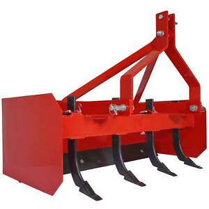 Titan 4 Box Blade Tractor Attachment Category 1 Cat 0 Scarifier Shank Teeth