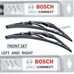 New Bosch Direct Fit Windshield Wiper Blades Front Left And Right Set