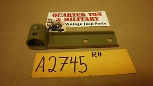 Jeep Willys Mb A2745 Top Bow Stowage Bracket Rh Perfect Reproduction G503