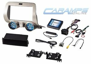 New Camaro 1 Or Double 2 Din Car Stereo Radio Dash Installation Kit W Wiring