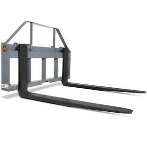 Ua Made In The Usa 42 Skid Steer Pallet Fork Attachment With Blades