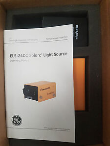 Welch Allyn ge Els 24dc Solarc Light Source Fedex Shipping