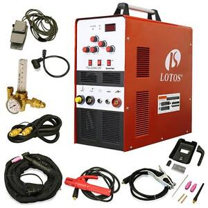 200 Amp Ac dc Inverter Compact Automatic Dual voltage Tig Welder With Foot Pedal