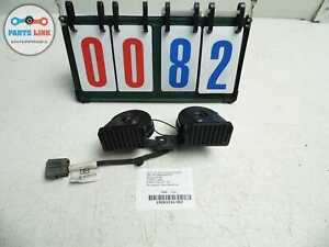 2013 2015 Land Rover Lr2 Horn Horns High Low Note Tone Siren Pair Complete Set