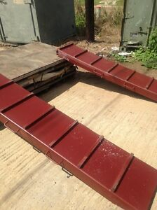 Extremely Heavy Duty Loading Ramps Designed For Loading 70 Ton Tanks