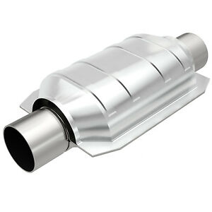Magnaflow 94106 Universal High flow Catalytic Converter Oval 2 5 In out