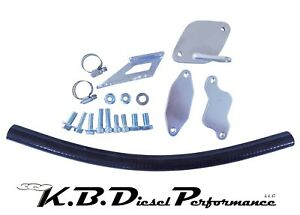 Egr Cooler Delete Kit Lbz 6 6l Duramax 2006 07 Chevy Gmc Turbo Diesel