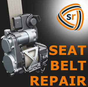 Ford Dual Stage Seat Belt Fix Repair Buckle Rebuild Reset Recharge Service