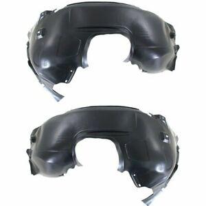 New Set Of Fender Liners For 2012 2016 Ford Focus Front Driver Passenger Side