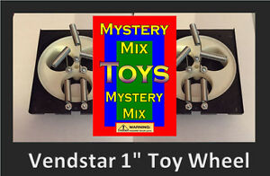 2 Two Vendstar Vending Machine 1 Capsule Toy Wheel Set With Free Label