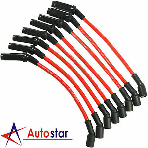 Performance Spark Plug Wires Set For Chevy Gmc 99 06 Ls1 Vortec 4 8l 5 3l 6 0l