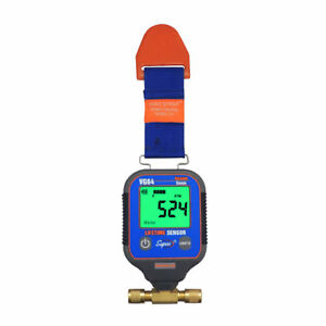 Supco Vg64 Vacuum Gauge Digital Display 0 12000 Microns Range