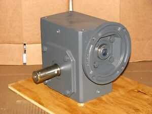 New Sterling Electric 262bq010142 Worm Speed Reducer Ratio 10 1